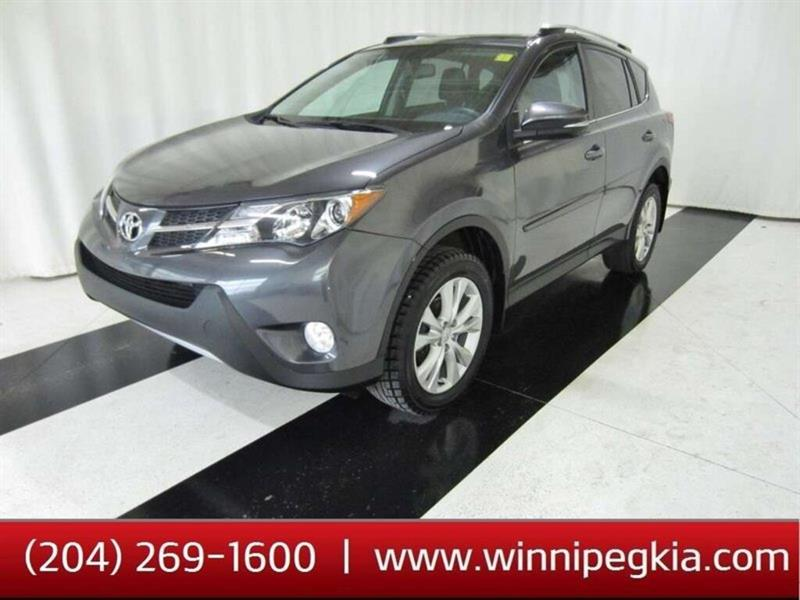 2015 Toyota RAV4 Limited *Accident Free!* #15TR69475