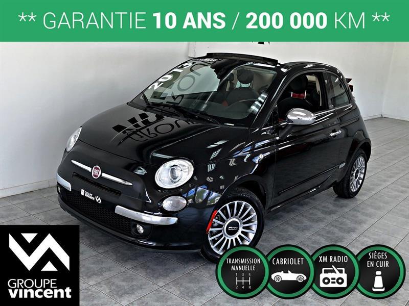 Fiat 500 2013 C LOUNGE CONVERTIBLE **GARANTIE 10 ANS** #A5132S