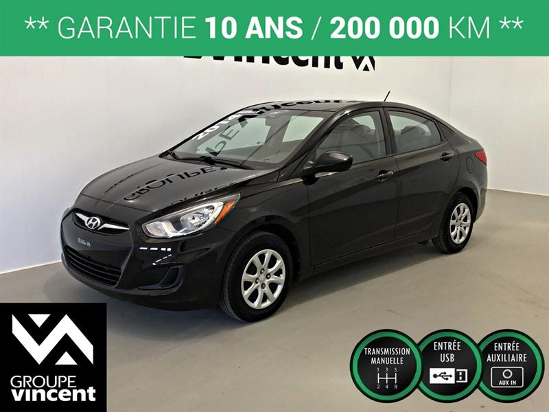 Hyundai Accent 2014 L ** GARANTIE 10 ANS ** #8-392AT