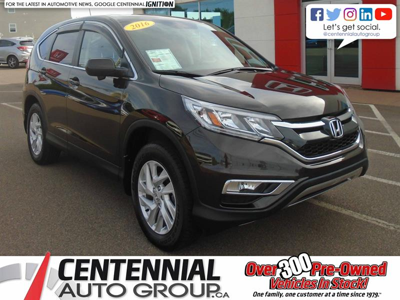 2016 Honda CR-V EX-L | AWD | Moon Roof | Backup Camera |  #10034A