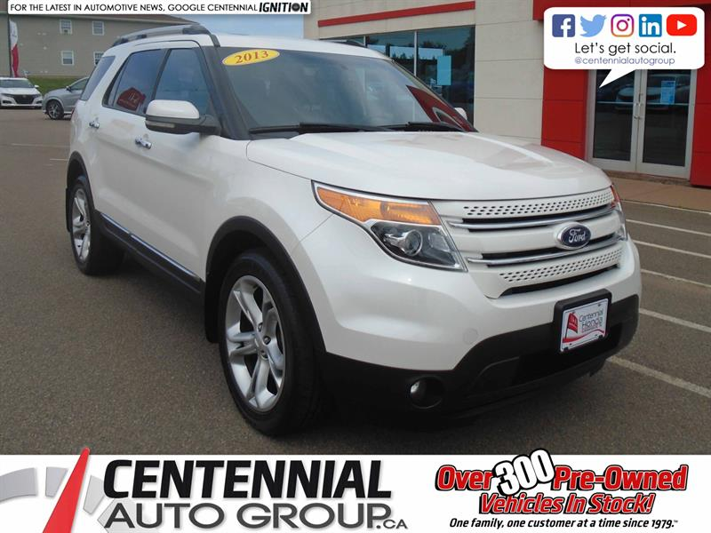 2013 Ford Explorer Limited | AWD | Moon Roof | Backup Camera | NAVI   #10066A
