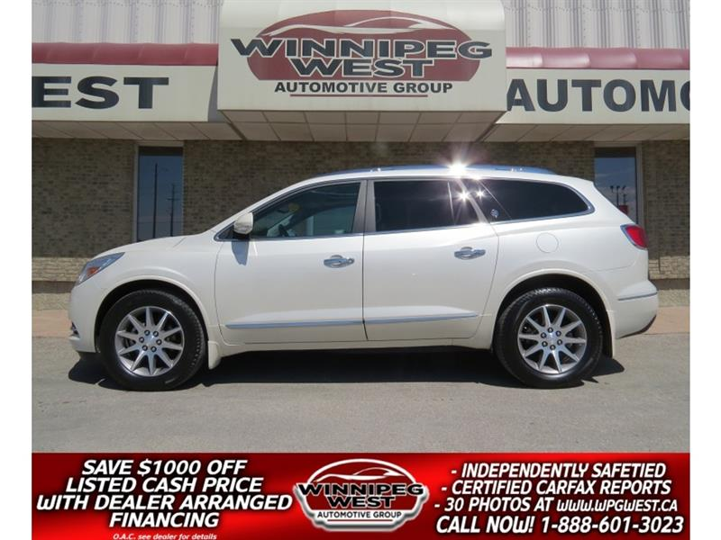 2015 Buick Enclave EXL AWD, LEATHER, NAV, 2 SUNROOF, 1 OWNER,FLAWLESS #GNW5163