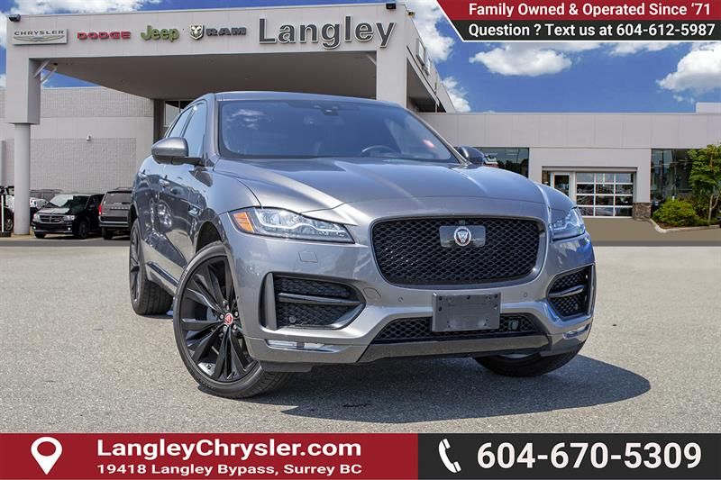 2018 Acura F-PACE 20d R-Sport #K843922A