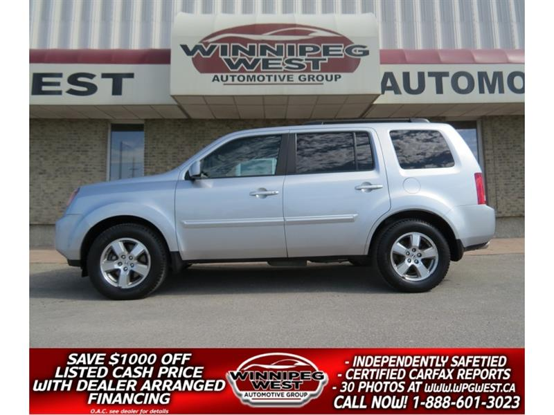 2010 Honda Pilot EX-L RES AWD , LOADED, AMAZING LOCAL SERV HISTORY! #GIW5118