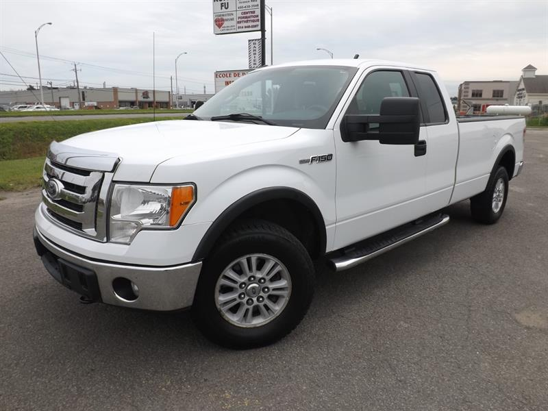 2011 Ford F-150 4WD SuperCab BTE 8' #1013731