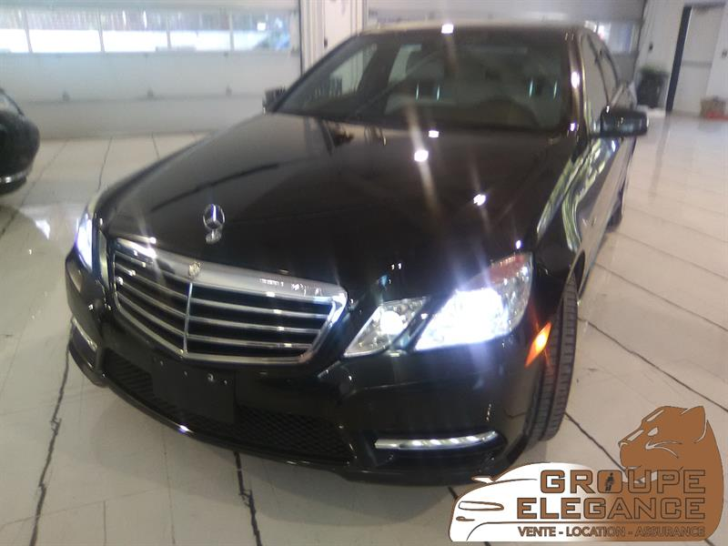 2012 Mercedes-Benz E-Class E 300 4MATIC, NAVIGATION, REVERSE CAMERA #611738
