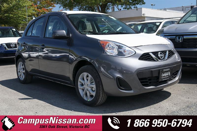 2019 Nissan Micra SV FWD w/ Style Package #9-A266-NEW-NEW