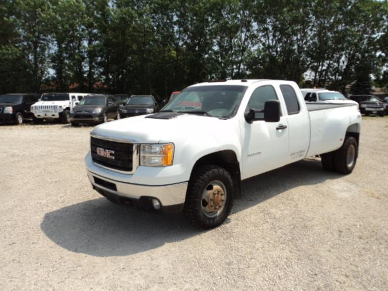 2013 GMC Sierra 3500HD SLE #55525252