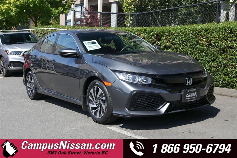2018 Honda Civic Hatchback LX FWD w/ Reverse Camera #A7491