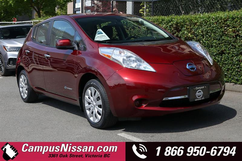 2016 Nissan Leaf S FWD w/ Quick-Charge #JN3296