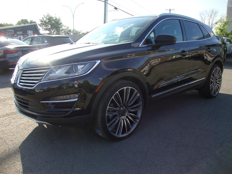 2017 Lincoln MKC AWD BLACK L 22MAGS NAVI-TECH-PANORAMIC  PCKG #M0002