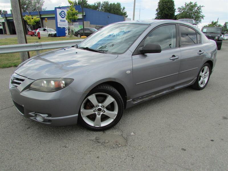 Mazda Mazda3 2004 GT CUIR TOIT OUVRANT MAGS!! #4645A