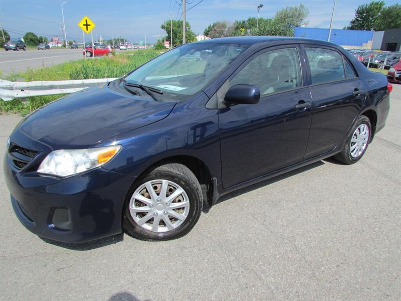 Toyota Corolla 2011 MAN. CE ECONOMIQUE!!! #4634A