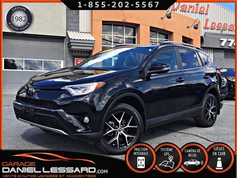 Toyota RAV4 2017 AWD, SE, CUIR, TOIT, GPS, VGA ARRIÈRE #79168