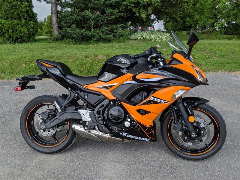 Kawasaki Ninja 650R 2019