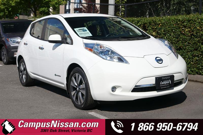2015 Nissan Leaf SL FWD w/ Quick-Charge #JN3321