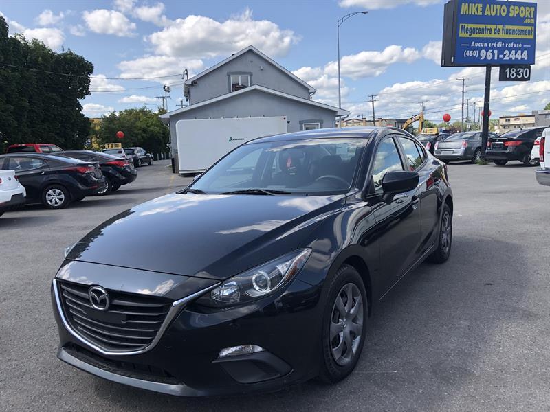 Mazda Mazda3 2015 4dr Sdn GX