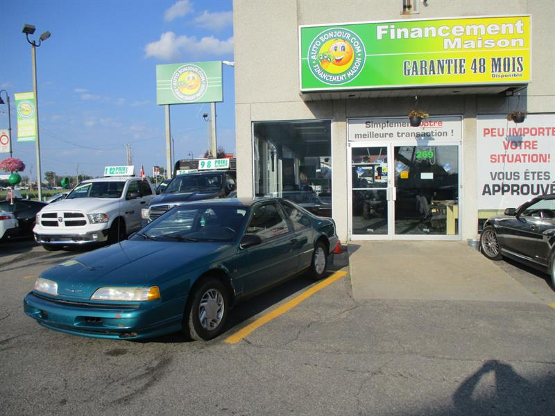 Ford Thunderbird 1992 2dr Coupe #19-0909