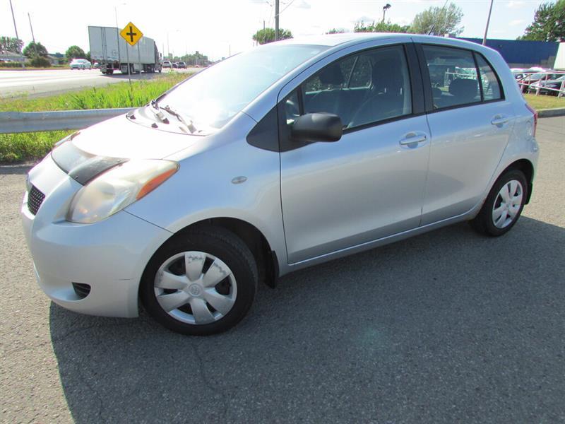 Toyota Yaris 2006 MAN. A/C GR ELECTRIQUE!!! #4642A