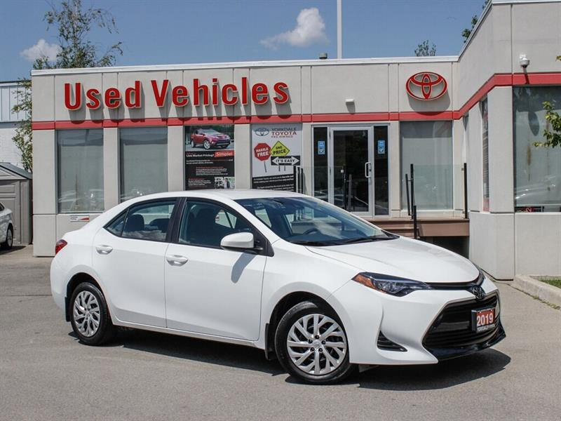 2019 Toyota Corolla LE   BCKP. CAM   HTD. SEATS #0002203A