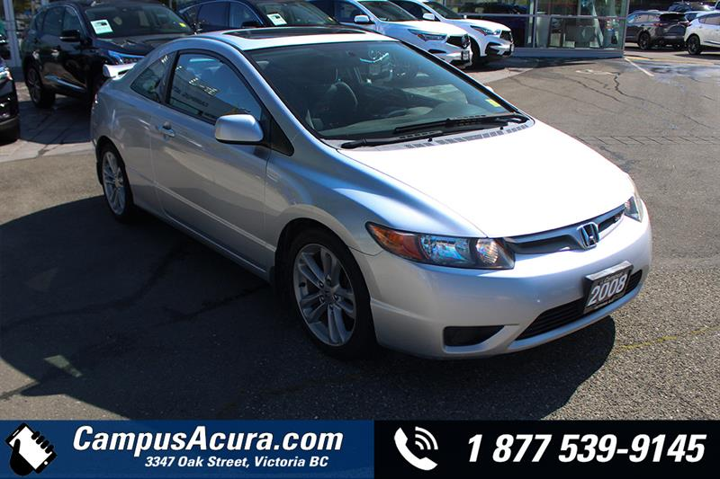 2008 Honda Civic Cpe 2dr Man Si #19-6233B