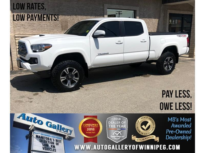2017 Toyota Tacoma TRD Sport *4x4/B.tooth/Htd Sts/Back.Cam/V6 #24024