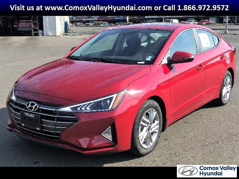 2020 Hyundai Elantra Preferred IVT Sun and Safety #20EL0012-NEW