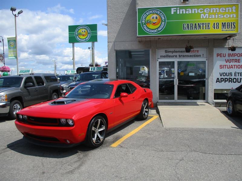 2014 Dodge Challenger RT,SHAKER V8 5.7L, HEMI Magnum 372 HP #19-169