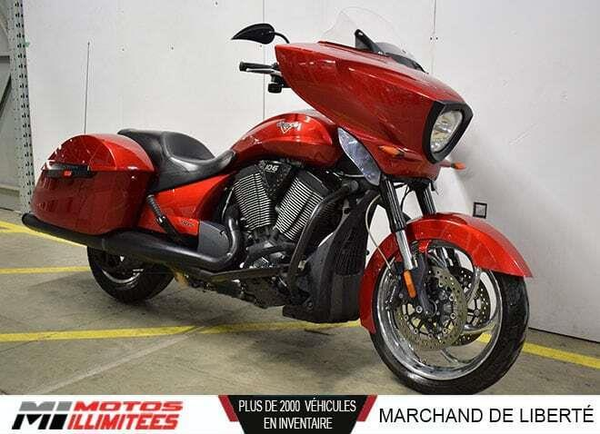 Victory Motorcycles Cross Country 2013