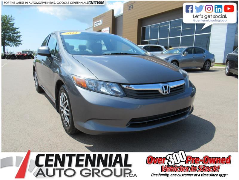 2012 Honda Civic Sdn Auto LX #U725B