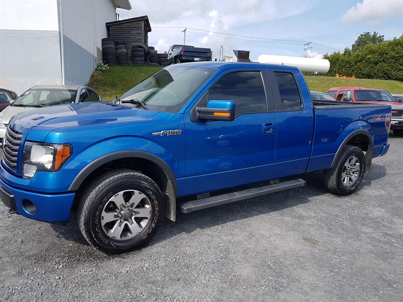 2011 Ford F-150 4WD SuperCab FX4