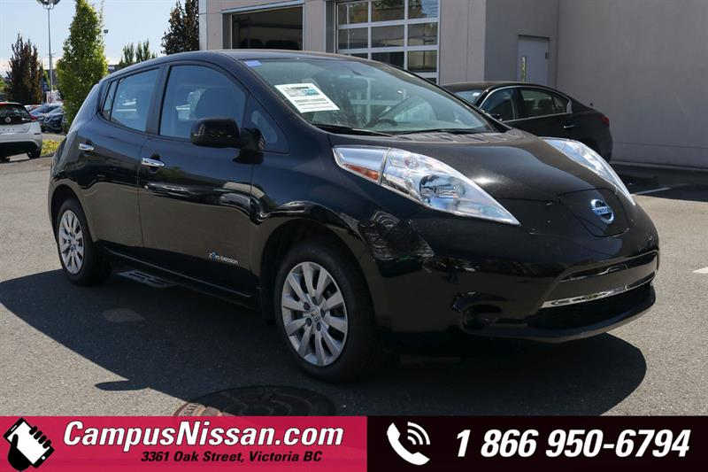 2016 Nissan Leaf S FWD w/ Quick-Charge #JN3330