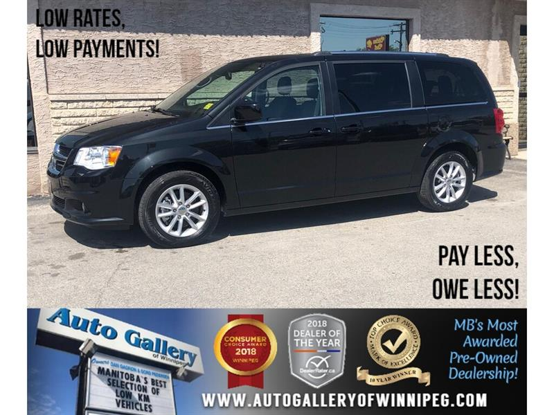 2018 Dodge Grand Caravan SXT Premium Plus *Navi/B.tooth/DVD/Power Doors #23994