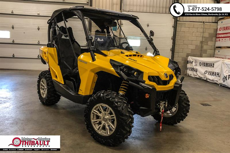 Can-am Commander 800R 2014