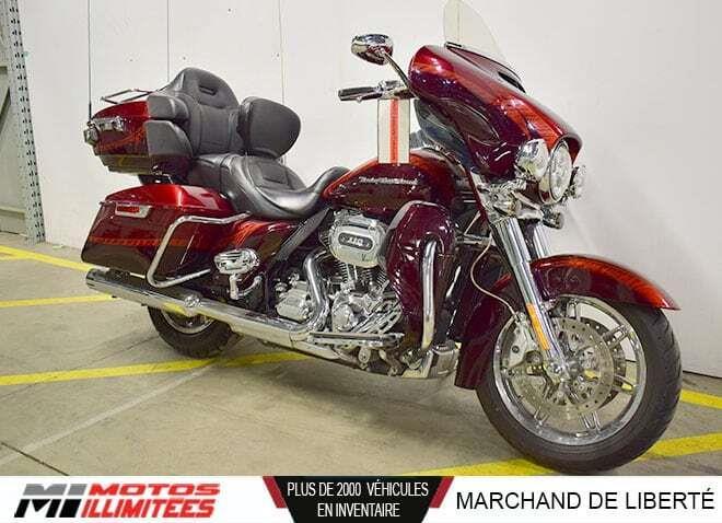 2014 Harley Davidson FLHTKSE CVO Ultra Limited