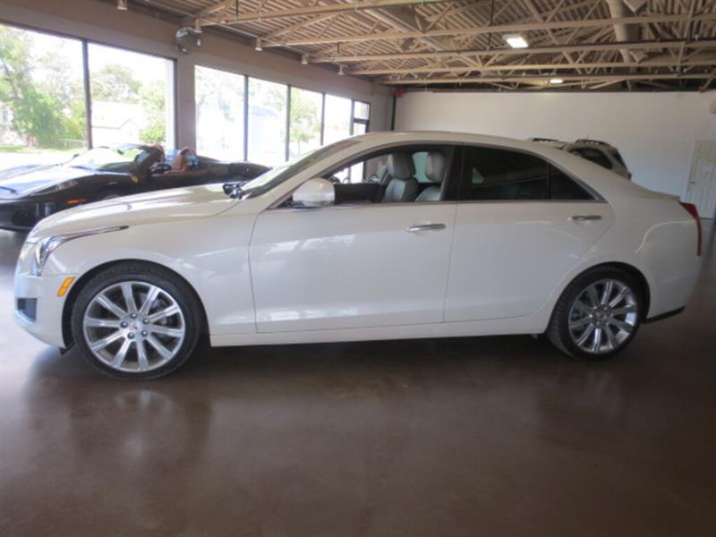 2013 Cadillac ATS 4dr Sdn 3.6L Luxury AWD - NAV/SUNROOF/LTHR #4128
