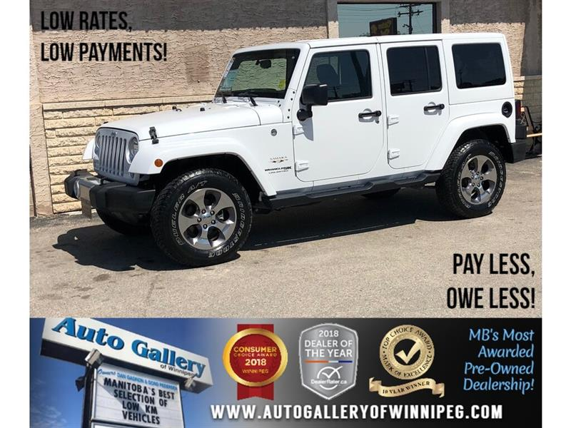 2018 Jeep Wrangler JK Unlimited JK Unlimited Sahara *4x4/Navi #23983