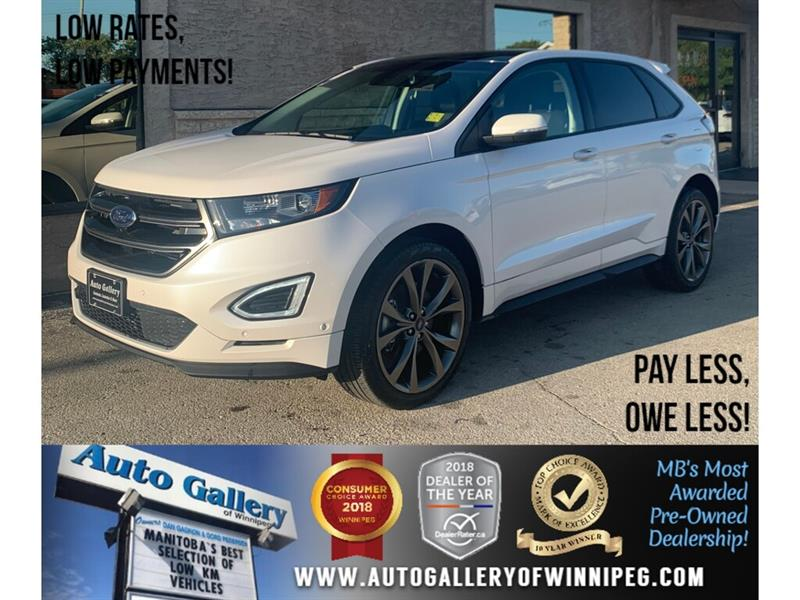 2018 Ford EDGE Sport *AWD/Htd Lthr/Pano/Navi/B.tooth/Back.Cam #24023