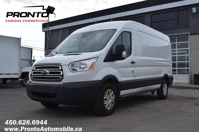 Ford Transit Cargo Van 2017 T-250 14WB Med Rf ** 3.7L ** CAMERA DE RECUL ** #1934
