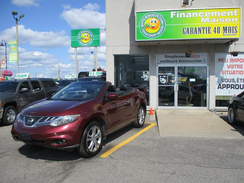 2011 Nissan Murano CrossCabriolet AWD 2dr Convertible,CUIR,MAGS #19-075