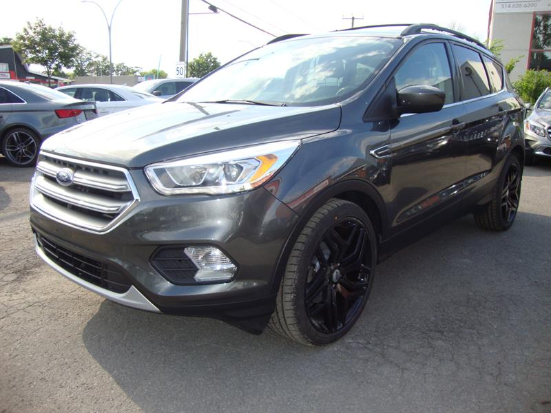 2017 Ford Escape FWD 4dr SE SPORT 20MAGS BLACK EDITION #M0005