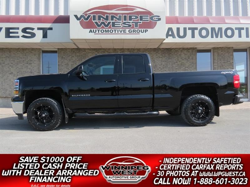 2014 Chevrolet Silverado 1500 RALLY-2 EDITION 5.3L 4X4, LOADED WITH GREAT LOOKS! #GW5176