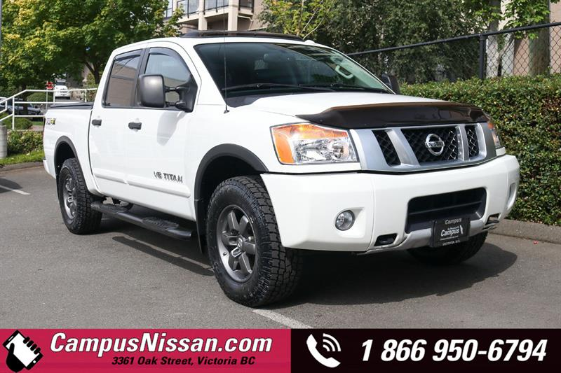 2015 Nissan Titan PRO-4x 4WD w/ Tow Package #A7496A