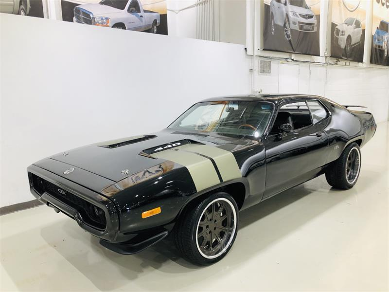 Plymouth Road Runner 1971 GTX F8 REPRODUCTION #DM007