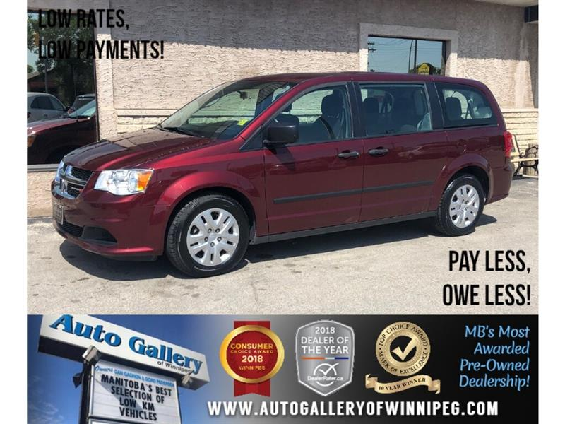 2017 Dodge Grand Caravan CVP *7Pass #23951