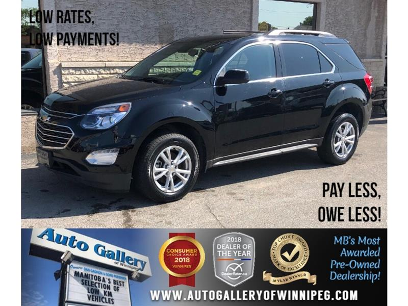 2017 Chevrolet Equinox LT *B.tooth/Back.Cam/Htd Seats #24031