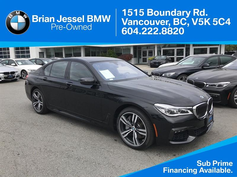 2017 BMW 750i xDrive - utive pkg - #BP843010