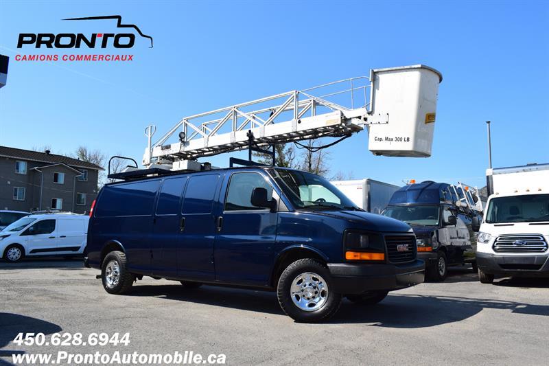 2008 GMC Savana Cargo Van 3500 **Ext./allongé ** Nacelle TTS25 ** #1938
