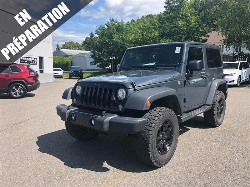 Jeep Wrangler 2017 4WD 2dr Willys Wheeler #J4458A