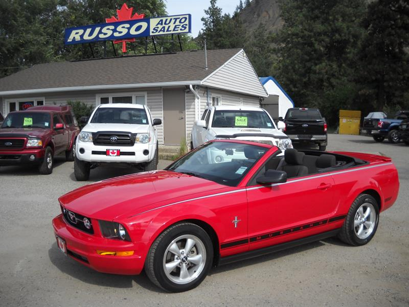 2007 Ford Mustang CONVT, ONLY 34 KMS....SOLD.... #3424